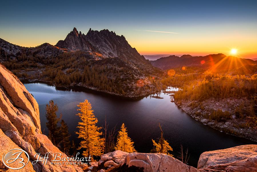 Perfection Lake and Prusik Peak