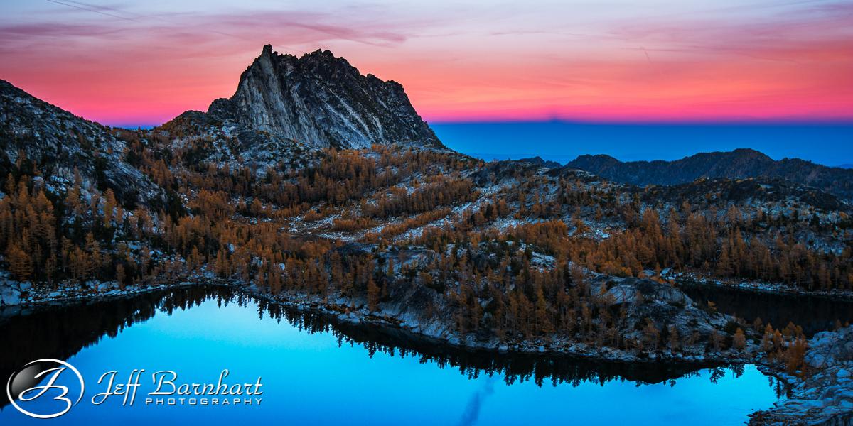 Inspiration Lake and Prusik Peak