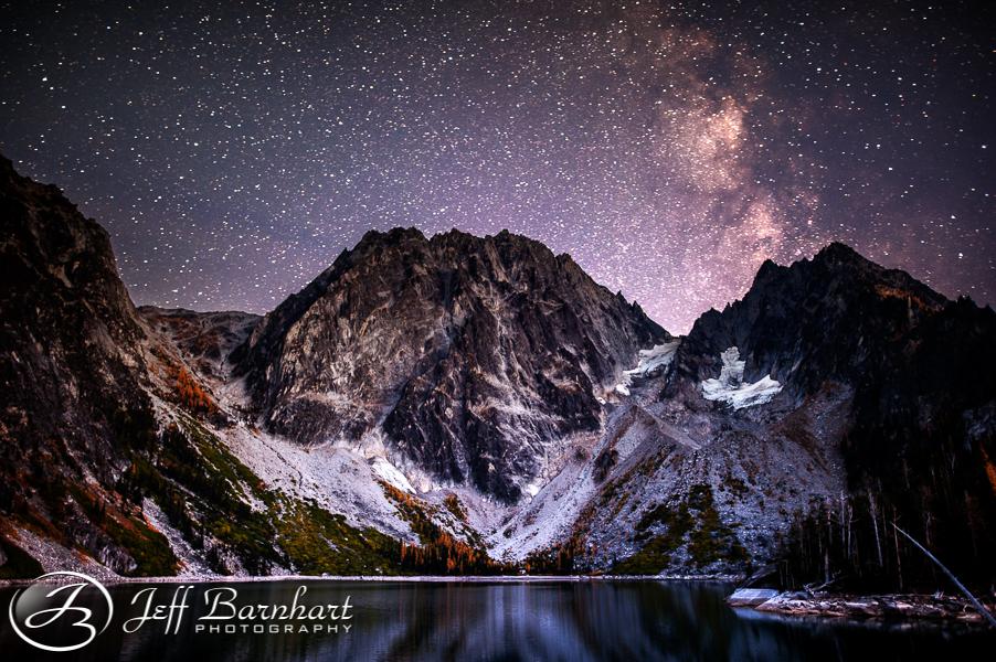 Colchuck Lake at Night
